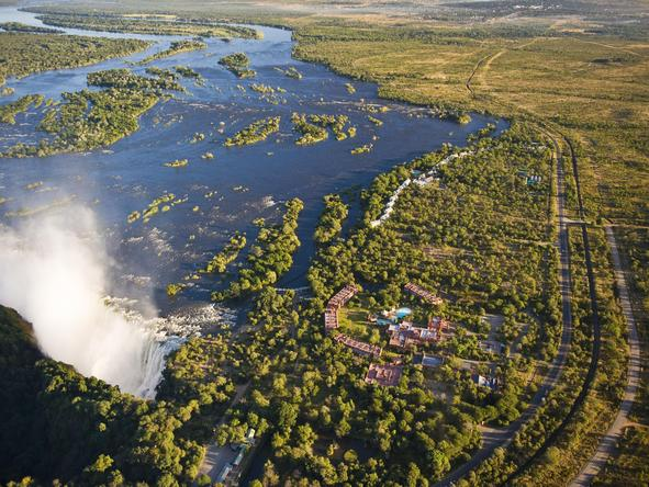 Can you stay any closer to the Victoria Falls ?